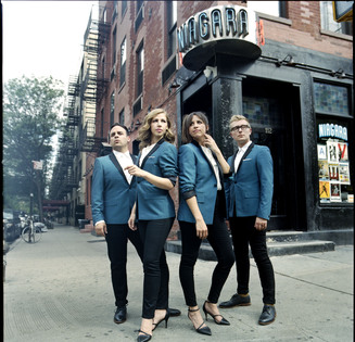 Mike Olson, Rachel Price, Bridget Kearne and Mike Calabrese make up Lake Street Dive.