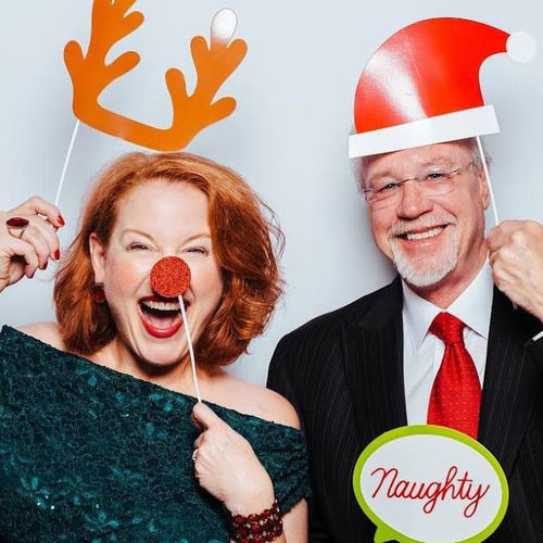 Lynne Rothrock and husband Ron DeWitte are teaming up for their annual Christmas Cabaret from Dec. 8 to 10 at the Cedar Rapids Public Library. (Alisabeth Von Presley)