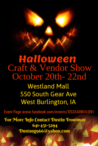 Halloween Craft & Vendor Show