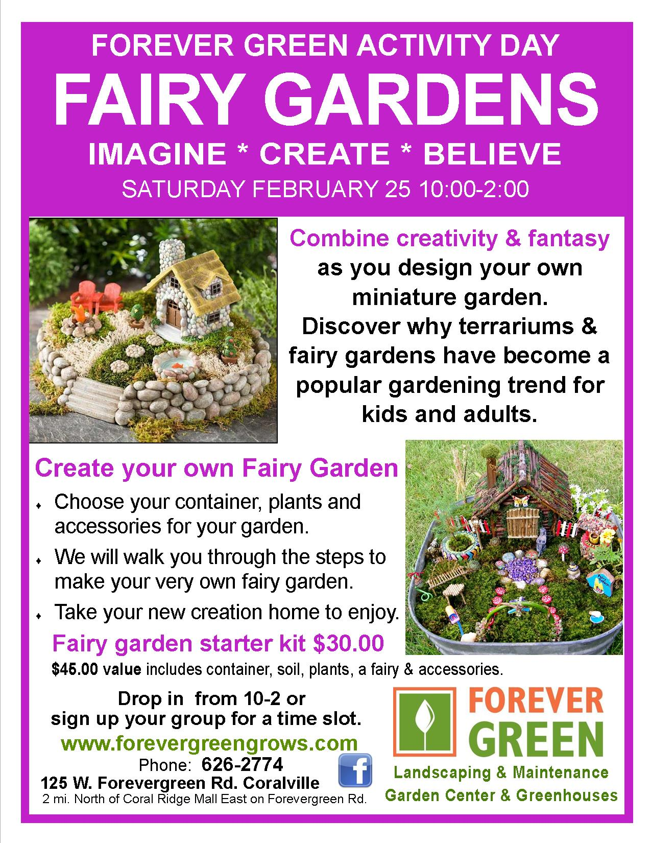 Create your own fairy garden hoopla for Design your own garden