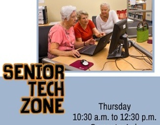 Search senior tech zone graphic calendar