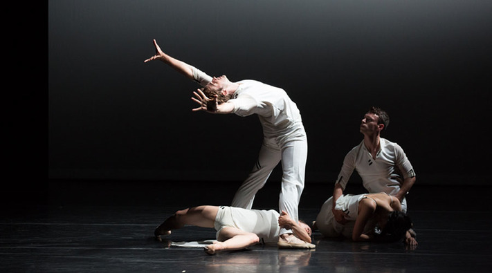 """Sweet Silent Thought,"" a quartet dance inspired by Shakespeare sonnets, is one of the works Jessica Lang Dance will be bringing from New York to Hancher Auditorium on March 23. (Rosalie O'Connor)"