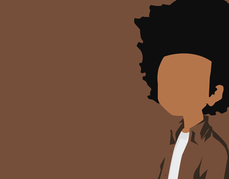 Search huey freeman  the boondocks    minimalist by sykotixuk d8dviw2