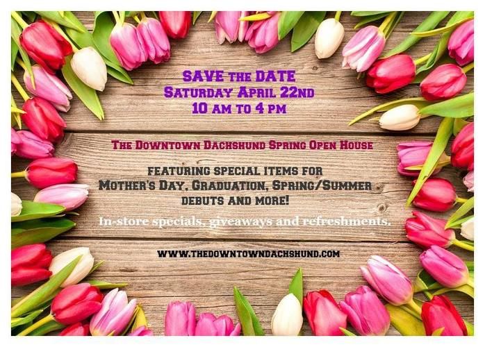 The Downtown Dachshund Spring Open House