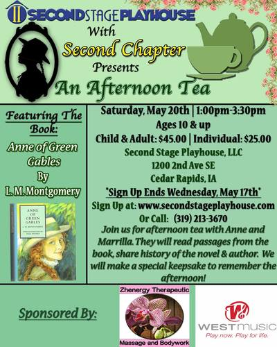An Afternoon Tea with Anne of Green Gables
