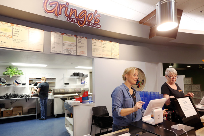 S Cafe Catering Pamela Nissen Left And Pam Haskins Take Orders At Which Recently Opened