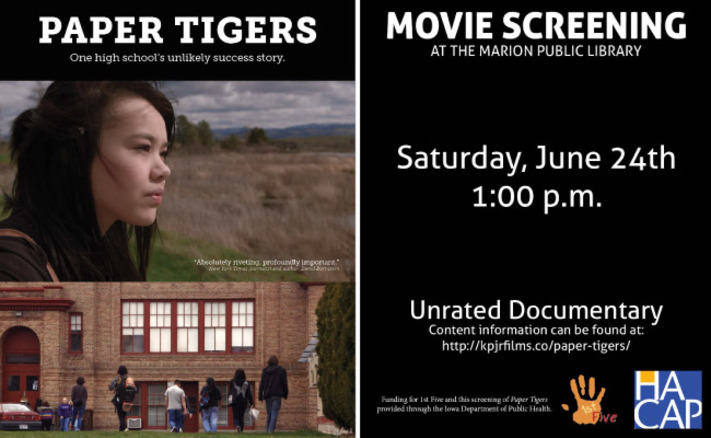 Paper Tigers Documentary Showing