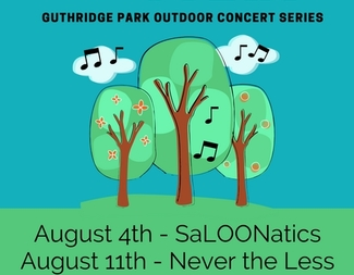 Search outdoor concert park fundraiser flyer