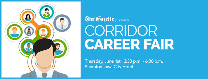 The Gazette Presents Corridor Career Fair | Hoopla