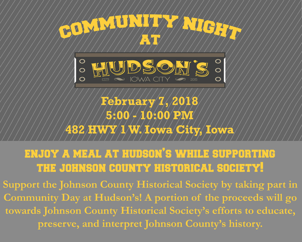 JCHS Community Night at Hudson's