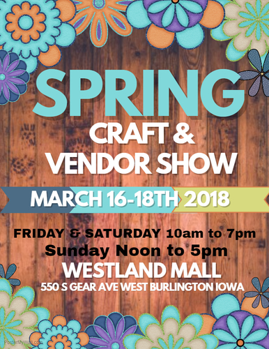 2018 Spring Craft & Vendor Show