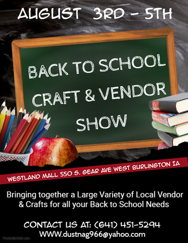 2018 Back To School Craft & Vendor Show