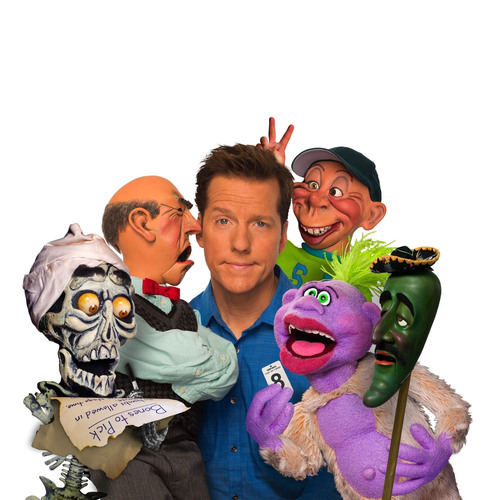 Ventriloquist/comedian Jeff Dunham is bringing his Passively Aggressive Tour to the U.S. Cellular Center in Cedar Rapids on Wednesday (1/10). His puppet posse includes (from left) Achmed, Walter, Peanut, Bubba J and Jose. (PERSONAL PUBLICITY)