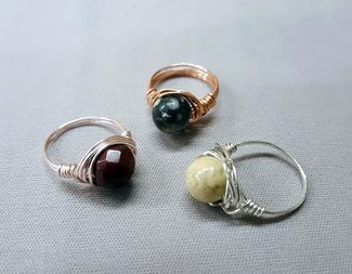 Search wire wrapped ring wirework class beadology iowa