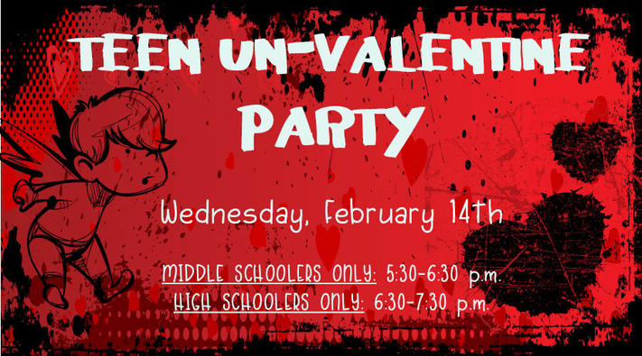 Un-Valentine's Day Party for Middle Schoolers