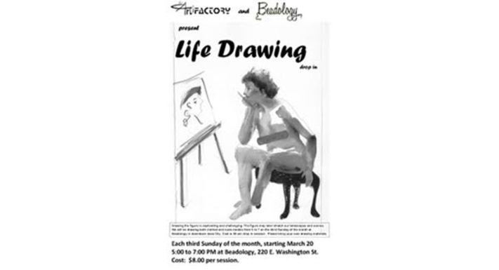 Artifactory's Life Drawing Drop-in