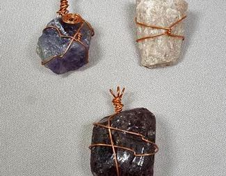 Search wire wrapping stones wirework class beadology iowa