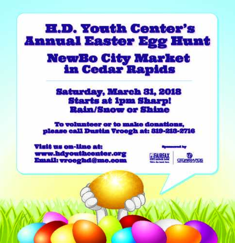 HD Youth Center's Annual Easter Egg Hunt
