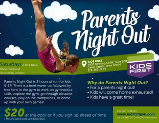 Search parents night out 2017 18