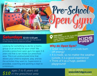 Search pre school open gym 2017 18