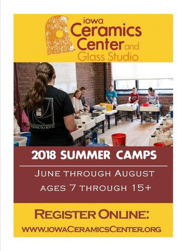Multi Day Summer Camps for ages 5-8--Mini Clay Boot Camp
