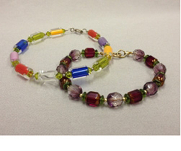 Make 2 Bracelets:  Intro to Stringing