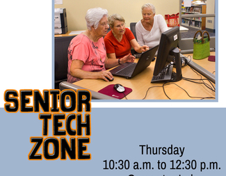 Search listing senior tech zone graphic