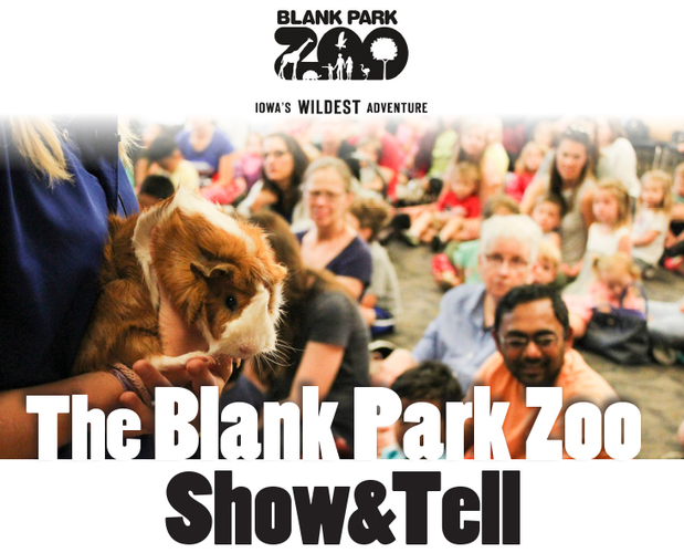 SRP Kids: Blank Park Zoo Show & Tell