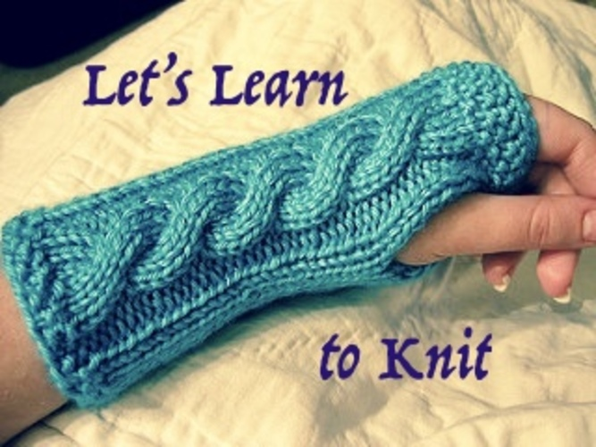 Let's Learn to Knit