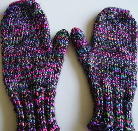 Let's Knit Next-Level Top-Down Mittens