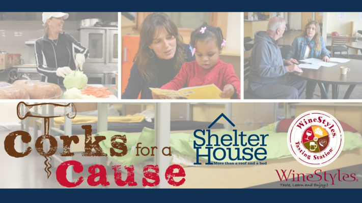 Corks for a Cause: Shelter House