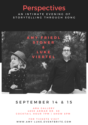 Amy Friedl Stoner & Luke Viertel in concert