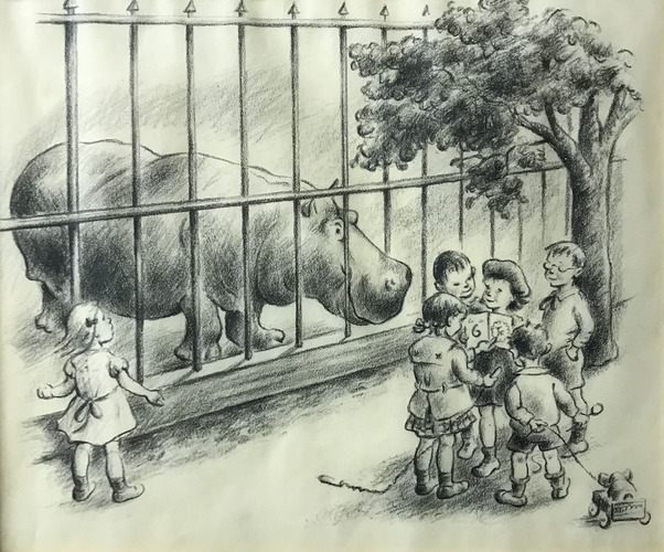 If We Ran the Zoo: Animals in Children's Book Illustration