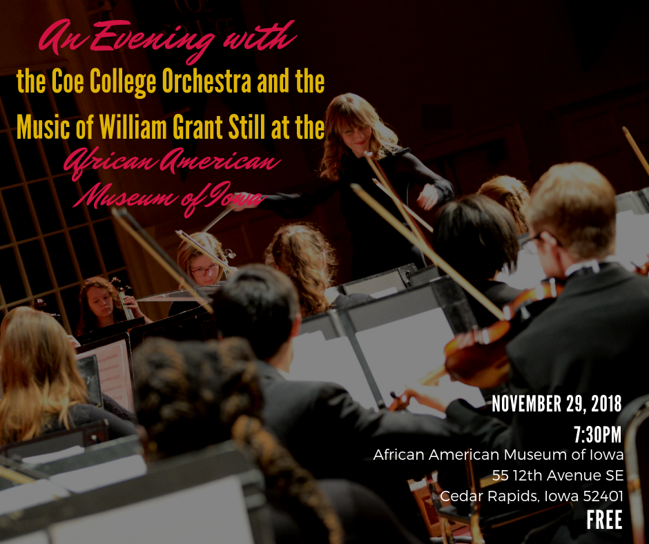 An Evening with the Coe College Orchestra - Music of William