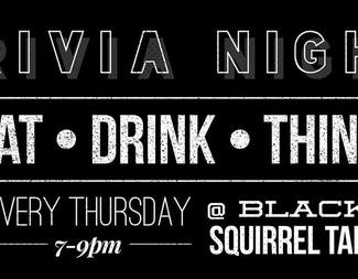 Trivia Night at Black Squirrel Tap