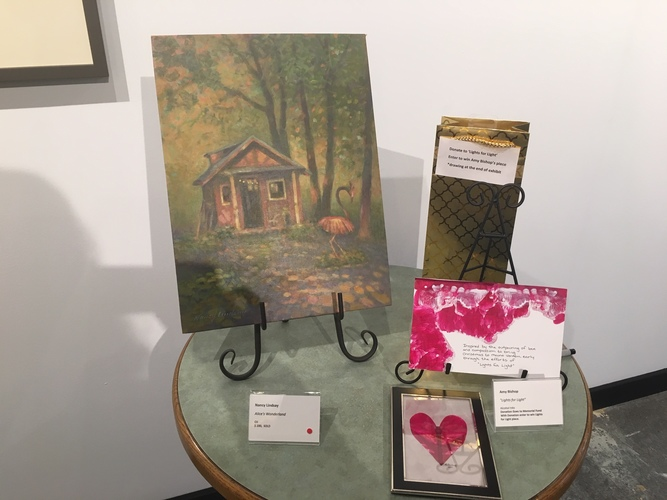 Portrayal of Mount Vernon Art Exhibition