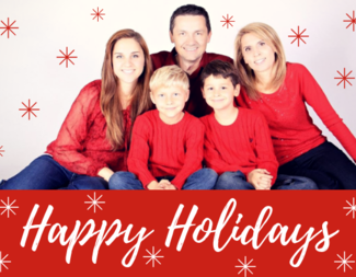 Search holiday greeting card example