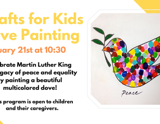 Search crafts for kids peace painting