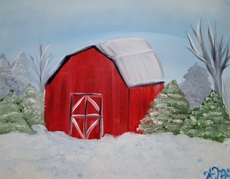 Search snow barn