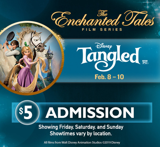 DISNEY ENCHANTED TALES- TANGLED