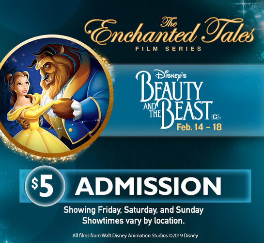 DISNEY ENCHANTED TALES- BEAUTY AND THE BEAST