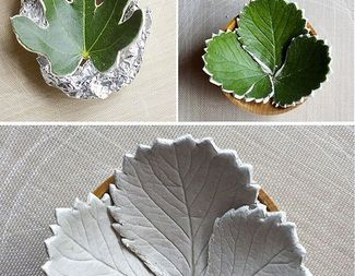 Search clay leaf dish