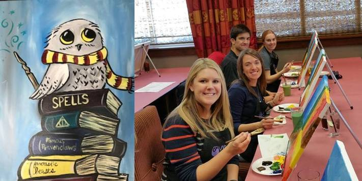 "Create ""Scholarly Owl"" with Vino van Gogh"
