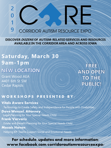 Corridor Autism Resource Expo