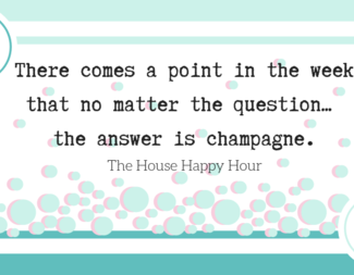Search the house happy hour