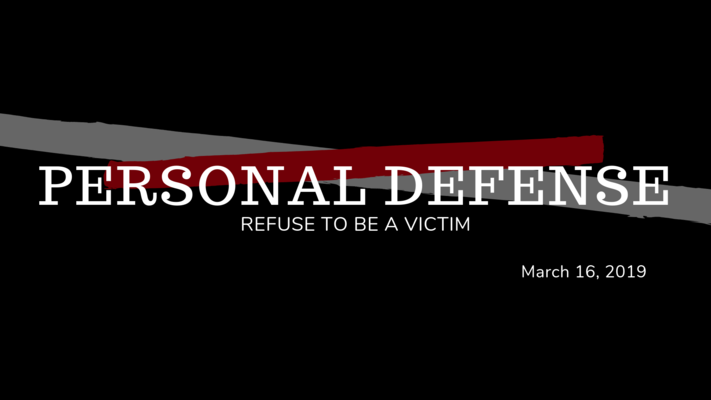 Personal Defense: Refuse to be a Victim
