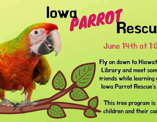 Search iowa parrot rescue