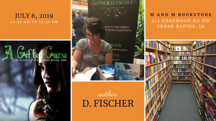 Author Signing: D. Fischer