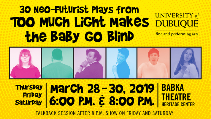 30-Neo Futurist Plays From Too Much Light Makes the Baby Go Blind (30 Plays in 60 Minutes)