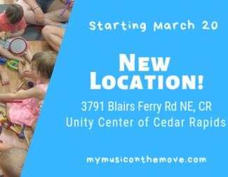 Family Music Class - 4th Saturday